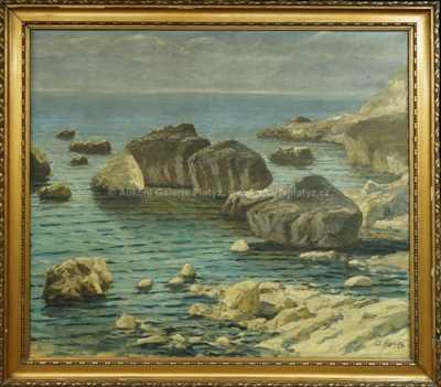 Josef Písecký (Liška) - Mořský břeh