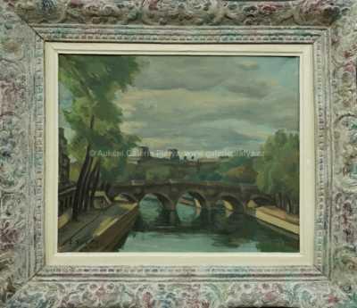 Autor neurčen - Most přes Seinu