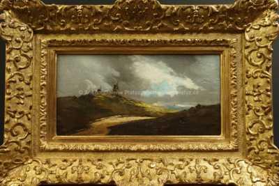 Antonín Waldhauser  - Větrný mlýn v krajině