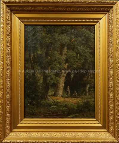 Autor neurčen - Setkání v lese