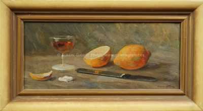 Karel Hodr - Zátiší s pomeranči