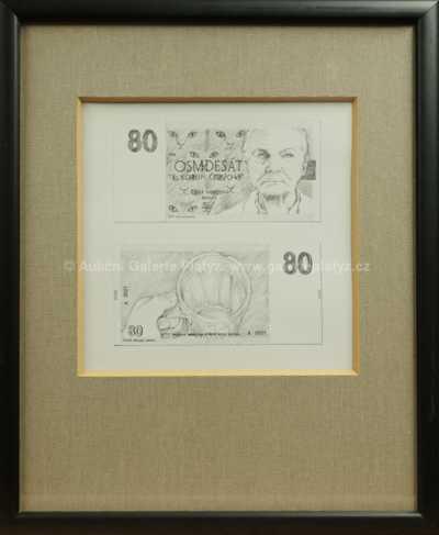 Irena Brunnhoferová - Návrh bankovky