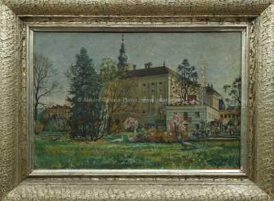Wilhelm Hans Braun - V zámeckém parku