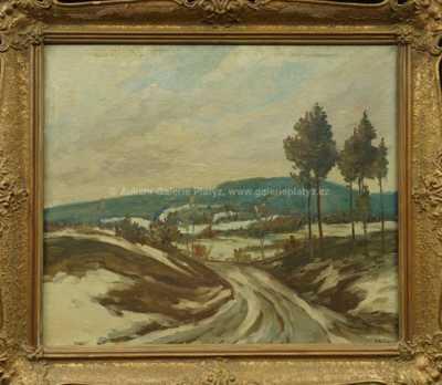 Josef Jambor - Zimní krajina