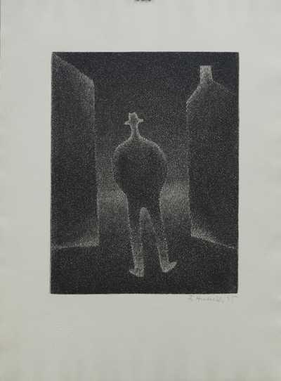František  Hudeček - Noční chodec