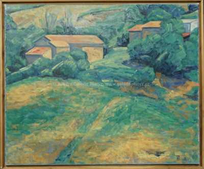Pavel Machotka - Krajina u Montone