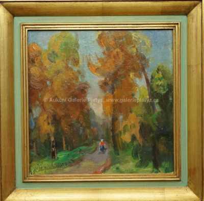 Karel Hofman - Podzimní procházka