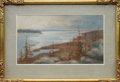 Autor neurčen - Pohled na řeku