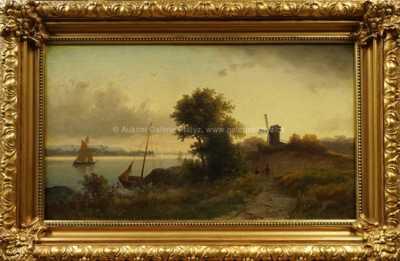 Autor neurčen - Motiv z Holandska