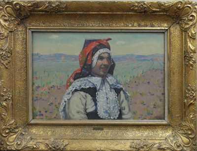 Antoš Frolka - Dívka v poli