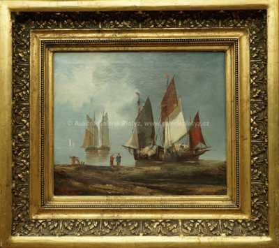 Autor neurčen - Rybáři na břehu