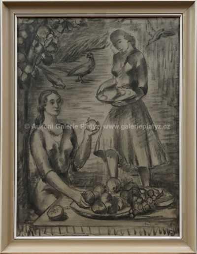 Alois Bílek - Dívky s ovocem