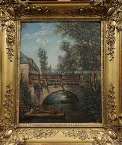 Autor neurčen - Na molu pod mostem