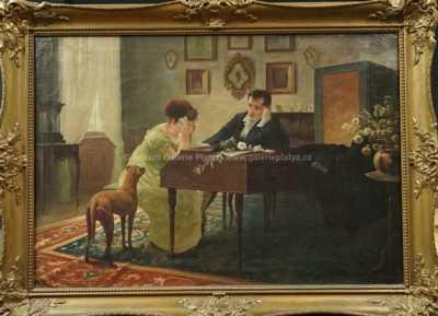 Alexandr Jakesch - V hudebním salonku