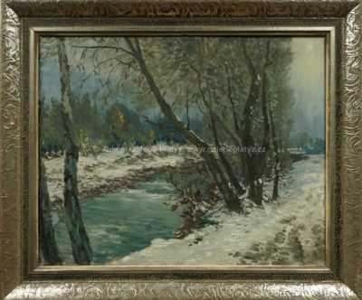 Karel Schadt - Zima v Nízkých Tatrách