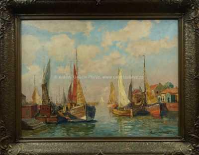 Paul Ernstwilke - V přístavu