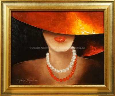 Jan Rapin - Dívka s náhrdelníky