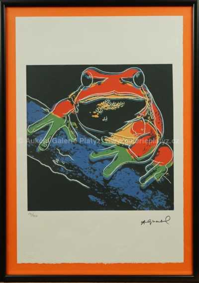 Andy Warhol - Žába