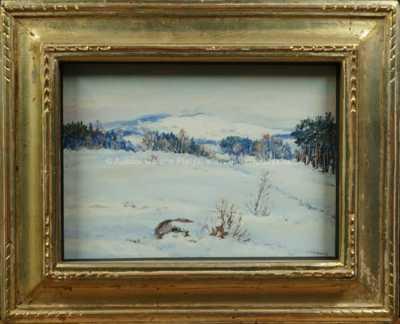 František Škrabánek - Zimní krajina