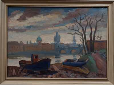 Josef Václav Směšný - Barnet - Praha - náplavka