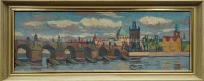 Josef Václav Směšný - Barnet - Karlův most