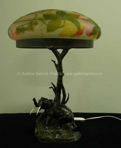 Autor neurčen - Stolní lampa