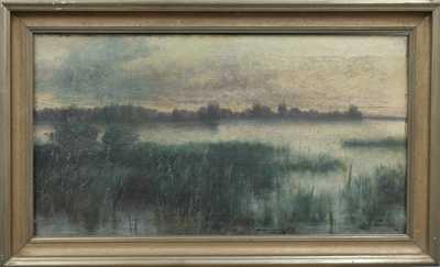 Emanuel Neumann - Rákosí na rybníku