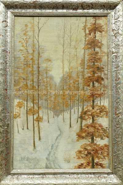 Vítězslav Mašek - Zimní les