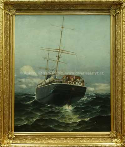 Hans Ritter von Petersen - Fregata Cimbria Hamburg