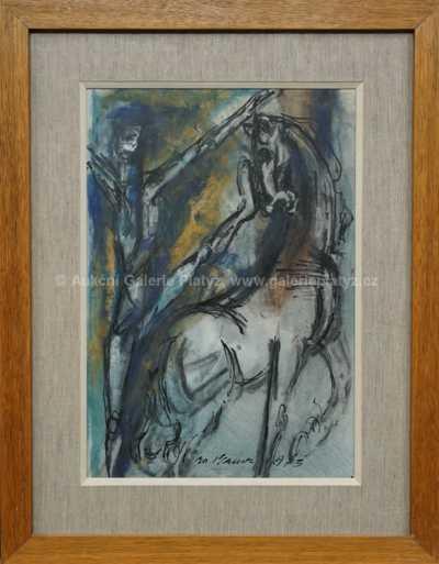 Jan  Bauch - Kůň