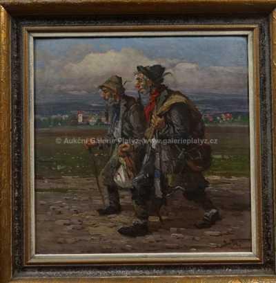 Ludvík Dobeš - Veselí tuláci