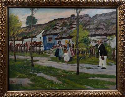 Gustav  Porš - Na vsi