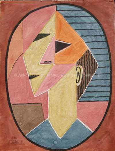 Jaroslav Kafka - Hlava v oválu