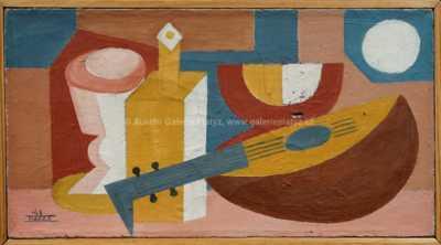 Jaroslav Kafka - Zátiší s mandolínou