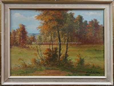 Otto Chochola - Podzimní les