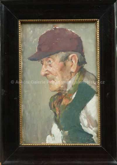 František Antonín Jelínek - Portrét