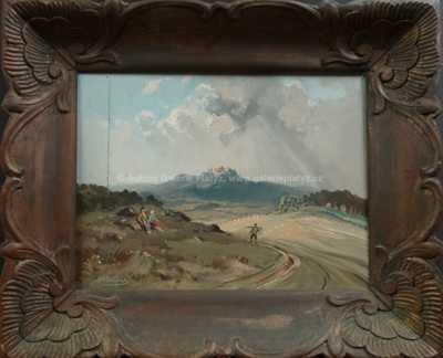 Josef Krejsa - Krajina pod hradem