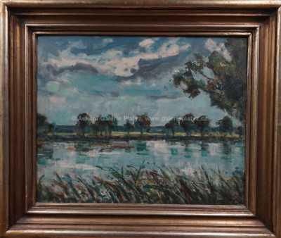 František Líbal - Svatovítský rybník