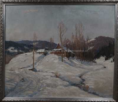 Augustin Mervart - Zimní ráno