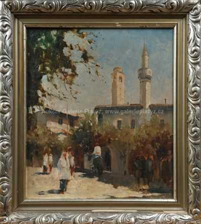 Jan Bohumil Pospíšil - Mešita z Ulcinje