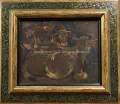 Andrej Bělocvětov - Ležící krávy