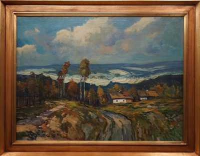 Ota Bubeníček - Podzimní krajina
