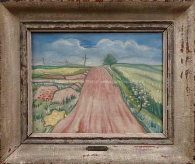 Jan  Zrzavý - Růžová cesta