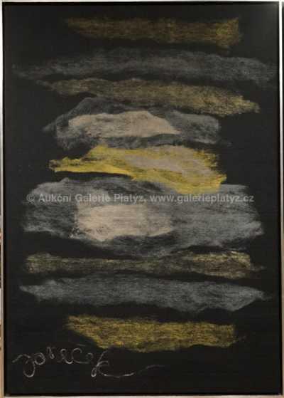 Ota Janeček - Krajina se žlutým mrakem