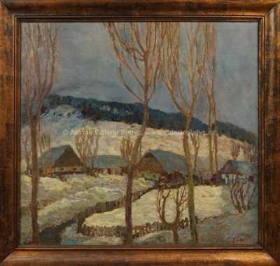 Josef Bárta - Chalupy pod sněhem