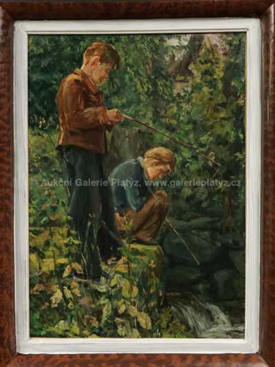 Josef Schlesinger - Mladí rybáři