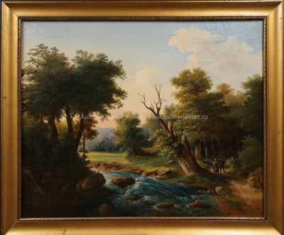 Neznačeno - Procházka u řeky