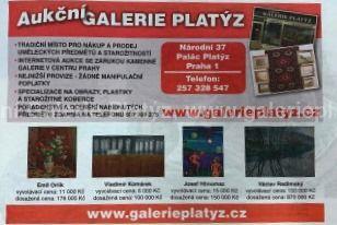 Obrázek Aukční Galerie Platýz